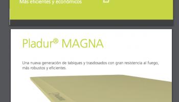 Nueva placa de pladur Magna